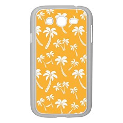 Summer Palm Tree Pattern Samsung Galaxy Grand Duos I9082 Case (white)