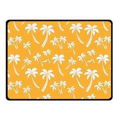 Summer Palm Tree Pattern Double Sided Fleece Blanket (Small)