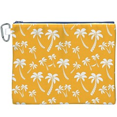 Summer Palm Tree Pattern Canvas Cosmetic Bag (XXXL)