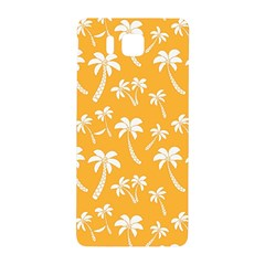 Summer Palm Tree Pattern Samsung Galaxy Alpha Hardshell Back Case
