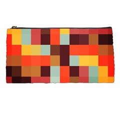 Tiled Colorful Background Pencil Cases