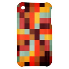 Tiled Colorful Background Apple iPhone 3G/3GS Hardshell Case