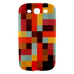 Tiled Colorful Background Samsung Galaxy S III Hardshell Case