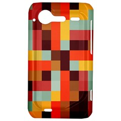 Tiled Colorful Background HTC Incredible S Hardshell Case