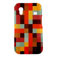 Tiled Colorful Background Samsung Galaxy Ace S5830 Hardshell Case
