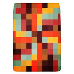 Tiled Colorful Background Flap Covers (L)
