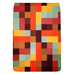 Tiled Colorful Background Flap Covers (S)