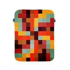Tiled Colorful Background Apple iPad 2/3/4 Protective Soft Cases