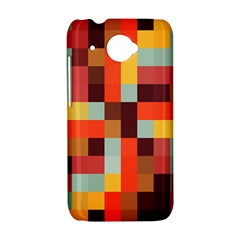 Tiled Colorful Background HTC Desire 601 Hardshell Case
