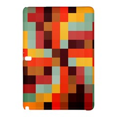 Tiled Colorful Background Samsung Galaxy Tab Pro 10.1 Hardshell Case