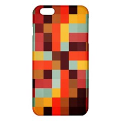 Tiled Colorful Background iPhone 6 Plus/6S Plus TPU Case