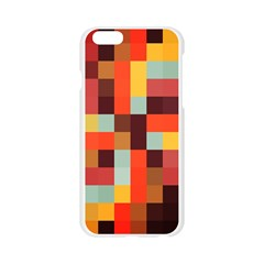 Tiled Colorful Background Apple Seamless iPhone 6/6S Case (Transparent)