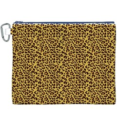 Animal Texture Skin Background Canvas Cosmetic Bag (XXXL)
