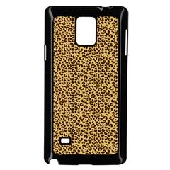 Animal Texture Skin Background Samsung Galaxy Note 4 Case (black)