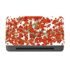 Vivid Floral Collage Memory Card Reader With Cf