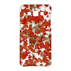 Vivid Floral Collage Samsung Galaxy A5 Hardshell Case