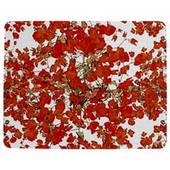 Vivid Floral Collage Jigsaw Puzzle Photo Stand (Rectangular)