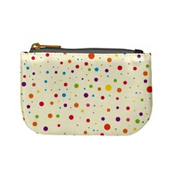 Colorful Dots Pattern Mini Coin Purses
