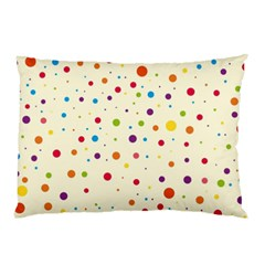 Colorful Dots Pattern Pillow Case (two Sides)