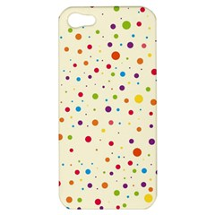 Colorful Dots Pattern Apple iPhone 5 Hardshell Case