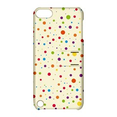 Colorful Dots Pattern Apple iPod Touch 5 Hardshell Case with Stand
