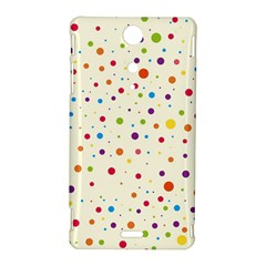 Colorful Dots Pattern Sony Xperia TX
