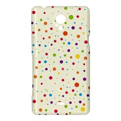 Colorful Dots Pattern Sony Xperia T