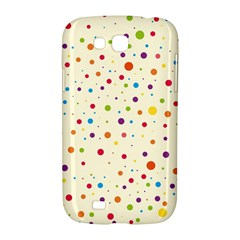 Colorful Dots Pattern Samsung Galaxy Grand GT-I9128 Hardshell Case
