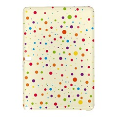 Colorful Dots Pattern Samsung Galaxy Tab Pro 10.1 Hardshell Case