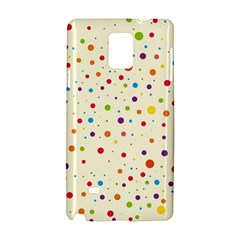 Colorful Dots Pattern Samsung Galaxy Note 4 Hardshell Case