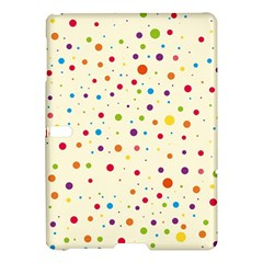 Colorful Dots Pattern Samsung Galaxy Tab S (10 5 ) Hardshell Case