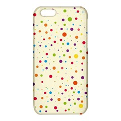 Colorful Dots Pattern iPhone 6/6S TPU Case