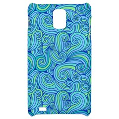 Abstract Blue Wave Pattern Samsung Infuse 4G Hardshell Case