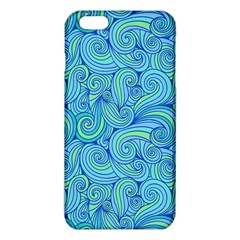 Abstract Blue Wave Pattern Iphone 6 Plus/6s Plus Tpu Case