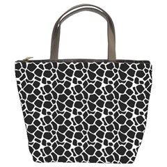 Animal Texture Skin Background Bucket Bags