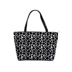 Animal Texture Skin Background Shoulder Handbags