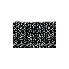 Animal Texture Skin Background Cosmetic Bag (small)