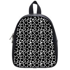 Animal Texture Skin Background School Bags (small)