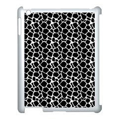 Animal Texture Skin Background Apple iPad 3/4 Case (White)
