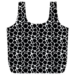 Animal Texture Skin Background Full Print Recycle Bags (L)