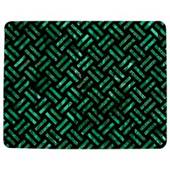 Woven2 Black Marble & Green Marble Jigsaw Puzzle Photo Stand (rectangular)