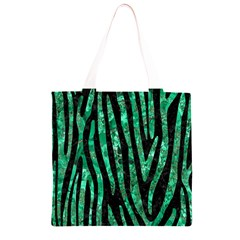 SKN4 BK-GR MARBLE (R) Grocery Light Tote Bag