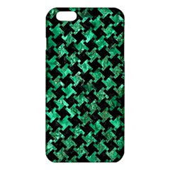 Houndstooth2 Black Marble & Green Marble Iphone 6 Plus/6s Plus Tpu Case