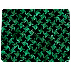 Houndstooth2 Black Marble & Green Marble Jigsaw Puzzle Photo Stand (rectangular)