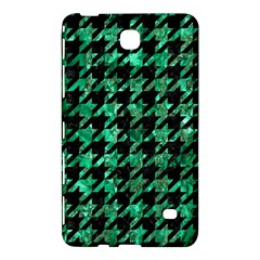 Houndstooth1 Black Marble & Green Marble Samsung Galaxy Tab 4 (8 ) Hardshell Case