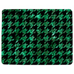 Houndstooth1 Black Marble & Green Marble Jigsaw Puzzle Photo Stand (rectangular)