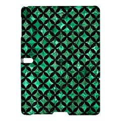 Circles3 Black Marble & Green Marble (r) Samsung Galaxy Tab S (10 5 ) Hardshell Case