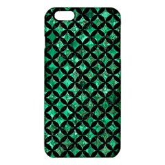 Circles3 Black Marble & Green Marble (r) Iphone 6 Plus/6s Plus Tpu Case