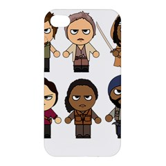 The Walking Dead   Main Characters Chibi   Amc Walking Dead   Manga Dead Apple iPhone 4/4S Premium Hardshell Case