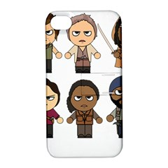 The Walking Dead   Main Characters Chibi   Amc Walking Dead   Manga Dead Apple iPhone 4/4S Hardshell Case with Stand
